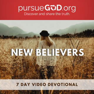 This image is a related visual description of the project 'New Believers || Pursue God' that was created by 'Pursue God'.