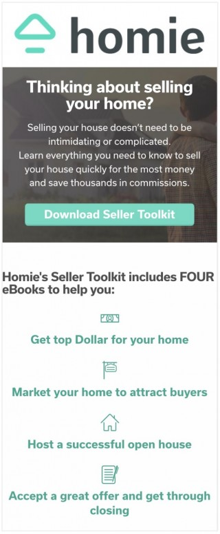 This image is a related visual description of the project 'Home Seller Toolkit' that was created by 'homie'.