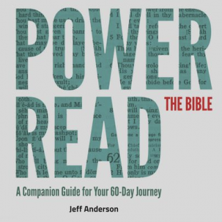 This image is a related visual description of the project 'POWER READ THE BIBLE' that was created by 'Jeff Anderson - Author'.