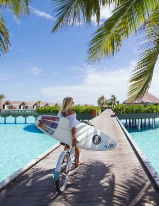 This image is a related visual description of the project 'Maldives Vacation Planner' that was created by 'Sivana Spirit'.