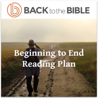 This image is a related visual description of the project 'Beginning to End Reading Plan' that was created by 'Back To The Bible'.
