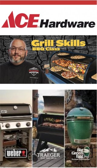 This image is a related visual description of the project 'Ace Grilling & Recipes' that was created by 'Ace Hardware'.