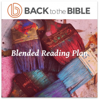 This image is a related visual description of the project 'Blended Reading Plan' that was created by 'Back To The Bible'.