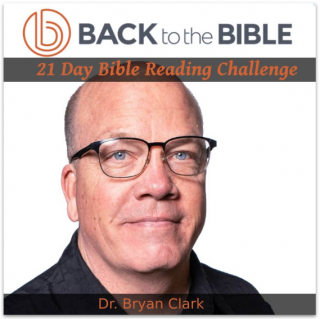 This image is a related visual description of the project '21 Day Bible Reading Challenge' that was created by 'Back To The Bible'.